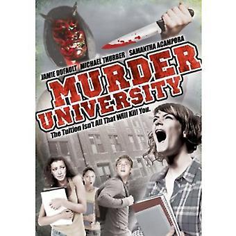 Mord University [DVD] USA importerer
