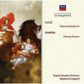 Raymond Leppard - Eloquence: Lully-Orchestral Pieces/Campra [CD] USA import