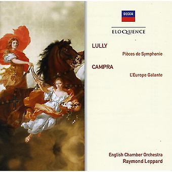 Raymond Leppard - Beredsamkeit: Lully orchestrale Stücke/Campra [CD] USA import