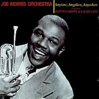 Morrisjoe y su orquesta - en cualquier momento importar de Estados Unidos Anyplace Anywhere [CD]
