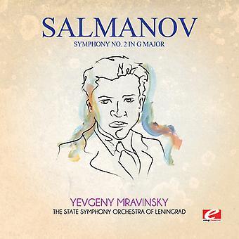 Salmanov - Symphony 2 in G Major [CD] USA import