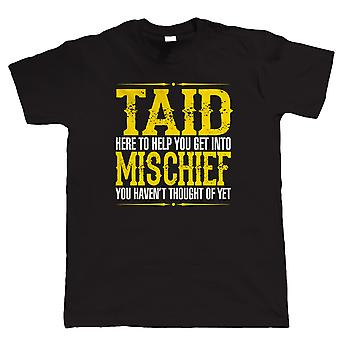 Vectorbomb, Taid Mischief Mens Funny T Shirt (S to 5XL)