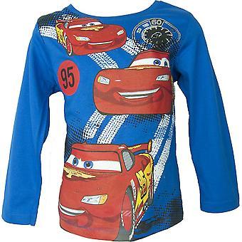 Disney Cars Lightning McQueen Long Sleeved Top / T-Shirt