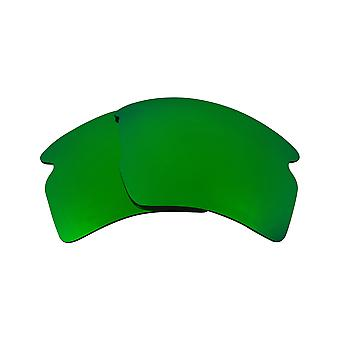 New SEEK Polarized Replacement Lenses for Oakley FLAK 2.0 XL Green Mirror
