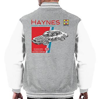 Haynes Owners Workshop Manual 0765 Saab 900 Turbo Men's Varsity Jacket