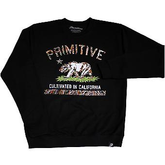 Primitive Apparel Cultivated Blaze Sweatshirt Black