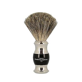 Edwin Jagger Ebony and Nickel Pure Badger Shaving Brush