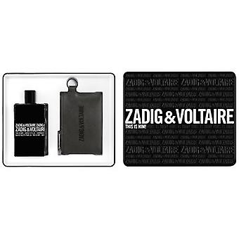 Zadig & Voltaire This Is Him Eau de Toilette 100 ml + Neceser Negro (Perfumería , Packs)