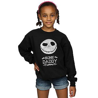 Disney Girls Nightmare Before Christmas Bone Daddy Sweatshirt