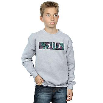 Paul Weller Boys Paisley Logo 1 Sweatshirt