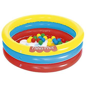 Bestway Piscina 3 Anillos Fisher Price 91x25 Cm
