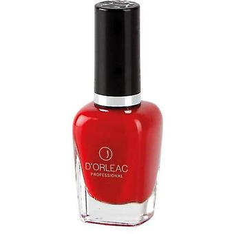D'Orleac Grafic No. 6 Red Nail Polish (Femme , Maquillage , Ongles , Vernis)