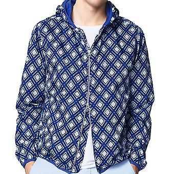 GANT Mens Rugger Diamond Hoodie / Jacket - Blue