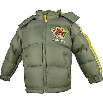 Boys Angry Birds HO1220 Winter Hooded Puffer Jacket