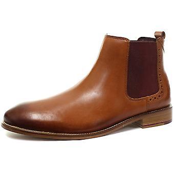 London Brogues Gatsby Chelsea Leather Mens Ankle Boots  AND COLOURS