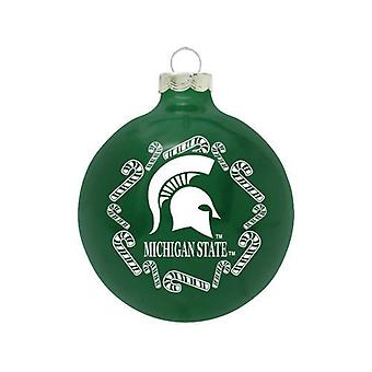Michigan State Spartans NCAA riet van het suikergoed Ornament