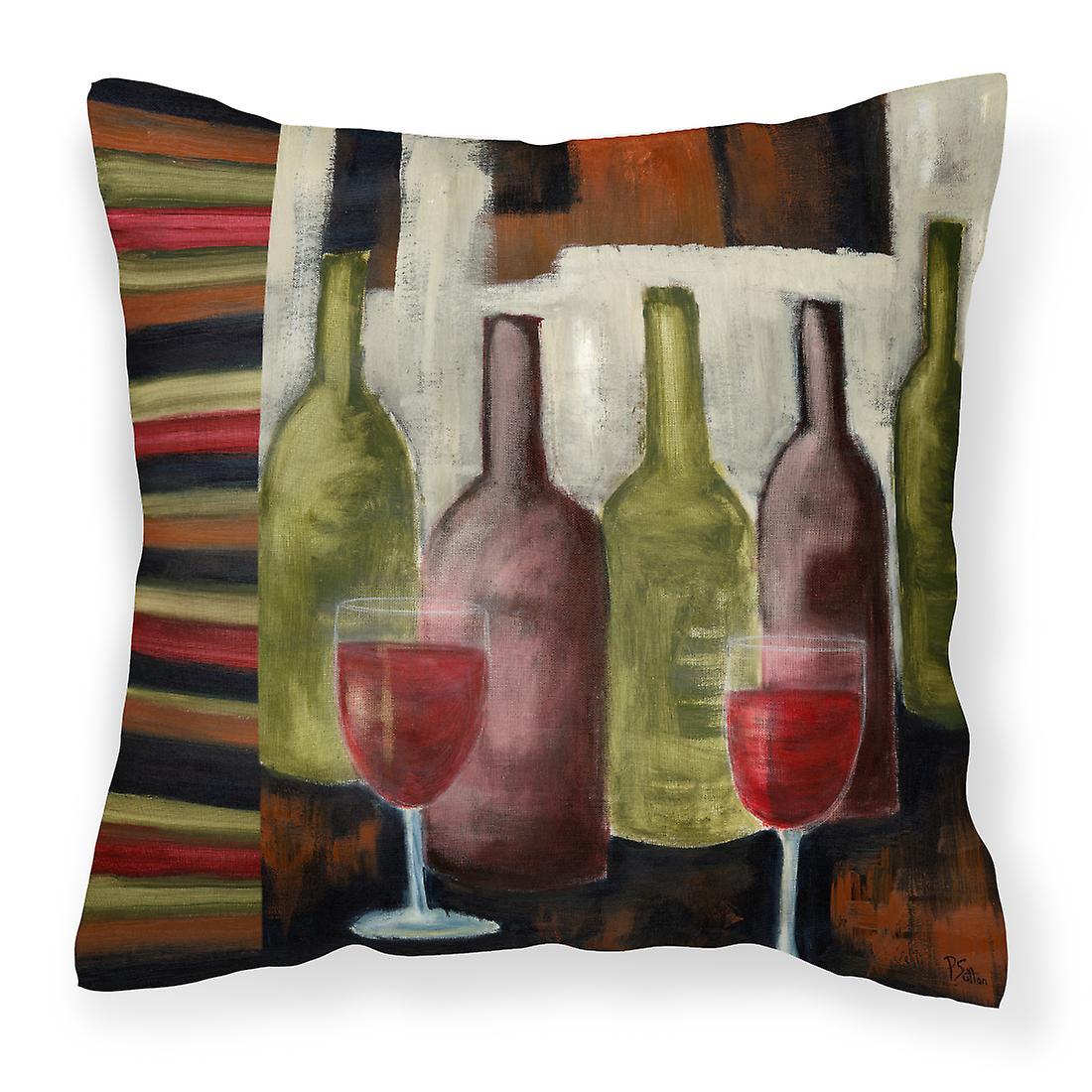 Vin Sutton Petrina De Décoratif Oreiller Rouge Toile DI2WEYH9