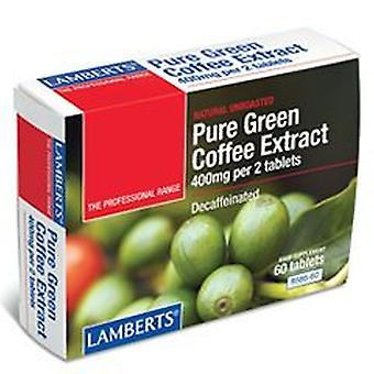 Lamberts Pure Green Coffee Extract, 60 tablets