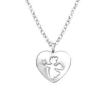 Angle - 925 Sterling Silver Necklaces - W32080X