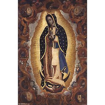 ラ ・ ビルヘン ・ デ ・ グアダルーペ ポスター ポスター印刷