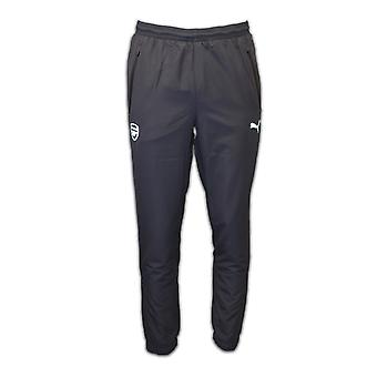 2016-2017 Arsenal Puma Woven Pants (Ebony) - Kids
