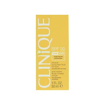 Clinique Mineral Sunscreen Liquid For Face Spf30 Sensitive Skin 30ml