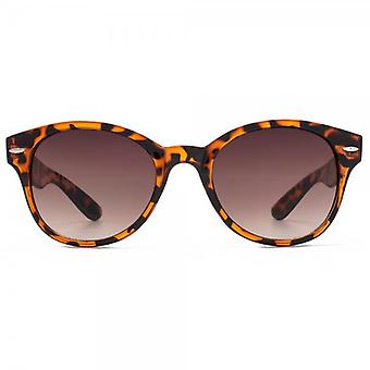 M:UK Soho Preppy Round Sunglasses In Tortoiseshell