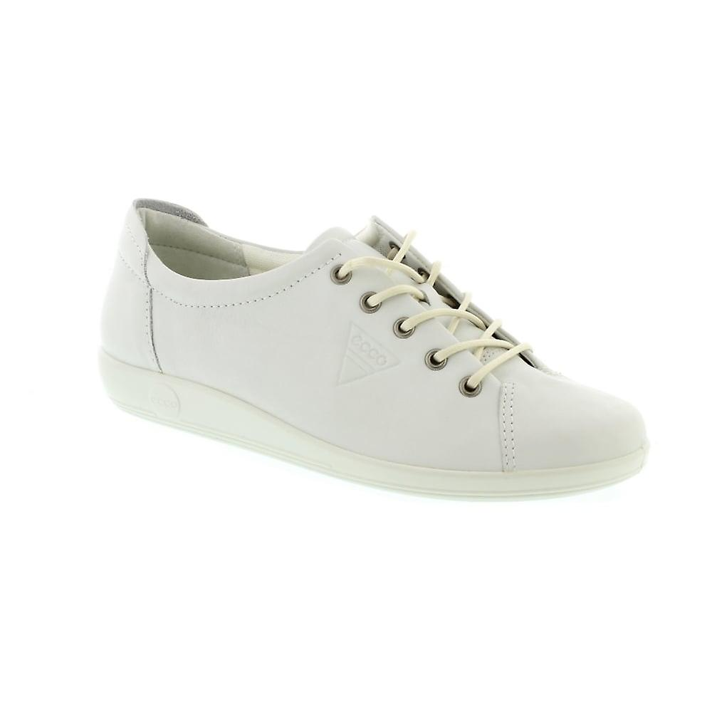 Ecco 206503 Soft 2.0 - 01007 White Feather (Leather) Womens Shoes