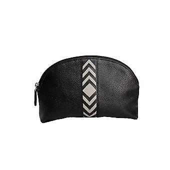 Eastern Counties Leather Womens/Ladies Becky Chevron Detail Make Up Bag