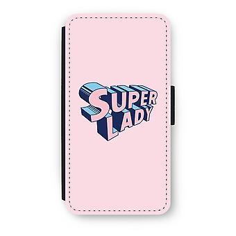 iPod タッチ 6 フリップ ケース - スーパーの女性