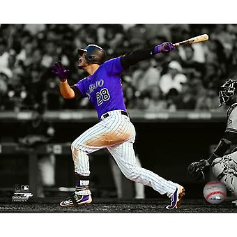 Nolan Arenado 2017 Spotlight akcji Photo Print