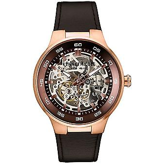 Kenneth Cole New York men's watch automatic leather 10030824