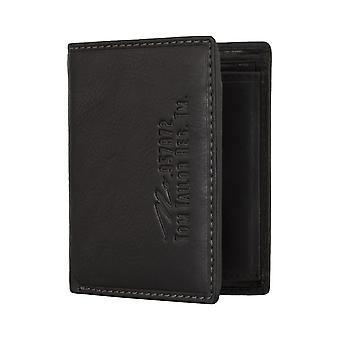 Monedero cartera monedero negro TOM TAILOR hombres 4809