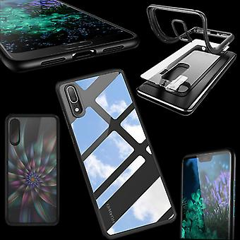 Original ROCK bumper case for Huawei P20 cover protection bag case Pouch Black new
