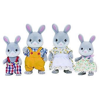 Les familles sylvanian Cottontail Rabbit famille ensemble