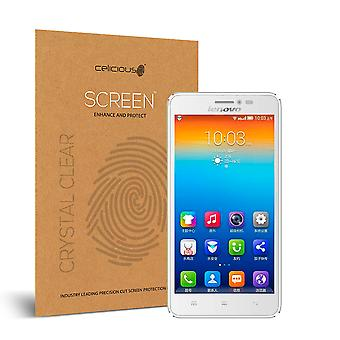 Celicious Vivid Invisible Glossy HD Screen Protector Film Compatible with Lenovo S850 [Pack of 2]