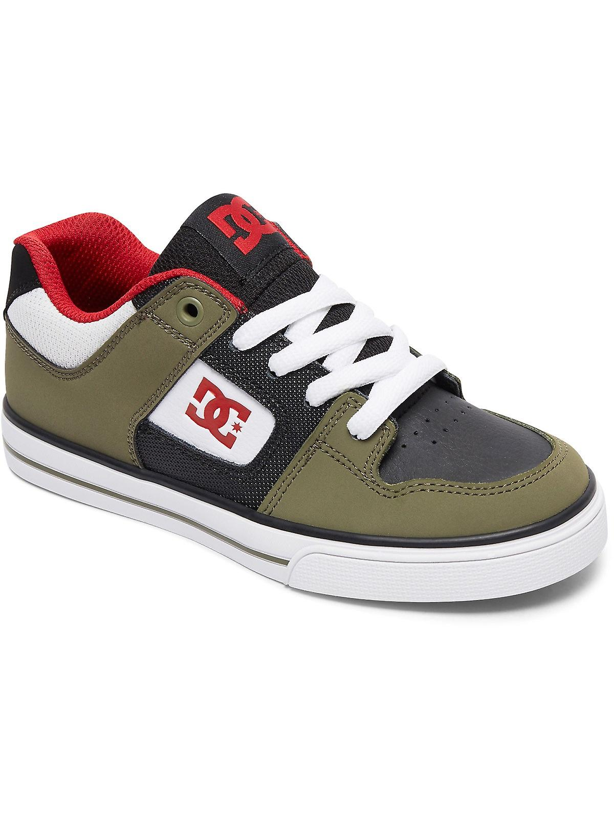 DC DC DC Olive-Black Pure Kids Shoe 8ae470