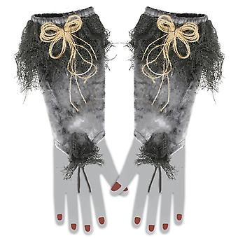 Forearm cuff witch gloves Halloween accessory