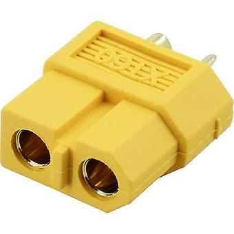 Battery receptacle XT60 Gold-plated 1 pc(s) Reely