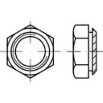 TOOLCRAFT 159297 Press nuts M4 Steel zinc galvanized 100 pc(s)