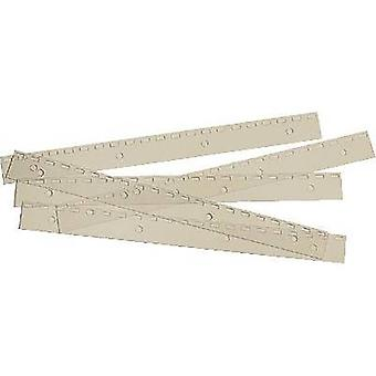 Ibico filing strips/IB 410215 21 Ring Ibis trip PVC US spacing cont.100