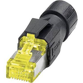 Phoenix Contact 1419001 VS-08-RJ45-10G/Q RJ45 Plug, straight Yellow, Black
