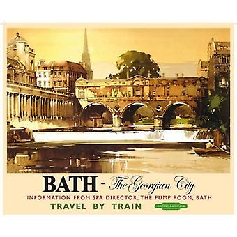 Bath The Georgian City (Old British Rail Ad.) Fridge Magnet