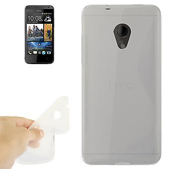 Handyhülle TPU-Schutzhülle für HTC Desire 700 transparent