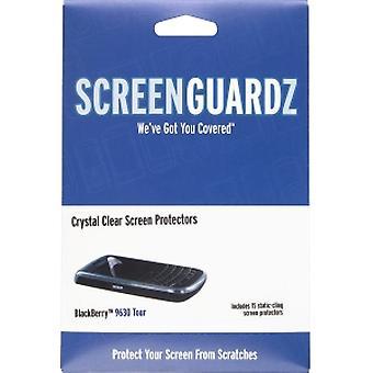 5 pack - BodyGuardz - ScreenGuardz proteggischermo per Blackberry 9630, 9650