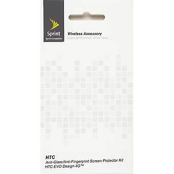 Anti-Glare/Anti-Fingerprint Screen Protector for HTC EVO Design 4G (2 Pack)