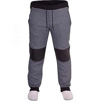 D Rock Mens D Rock Slim Fit Gym Jogger Fleece Tracksuit Jog Pants Cuffed Bottoms