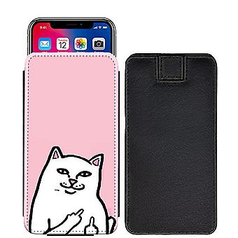 Famous Quotes cat Custom Designed Printed Pull Tab Pouch Phone Case Cover for verykool s5007 Lotus Plus [S] - FQ03_web