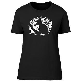 Alien Spider Paint Profile Women's T-shirt