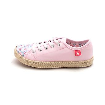 Kids Joules Girls Jnrplay Low Top Lace Up Fashion Sneaker